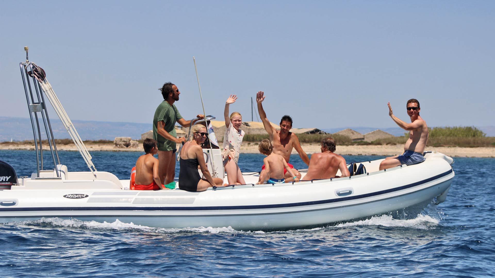 Escursioni in barca Marzamemi - Shark